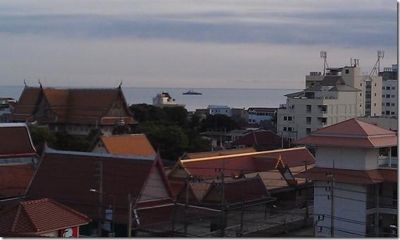 Хуа-Хин, отель Colonnade, вид на город с 7 этажа